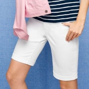 Talbots Flawless Five pocket boyfriend shorts